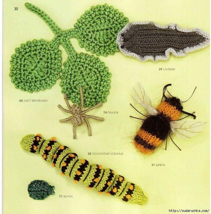 75 вязаных птиц,бабочек и жуков-книга. Обсуждение на LiveInternet - Российский Сервис Онлайн-Дневников