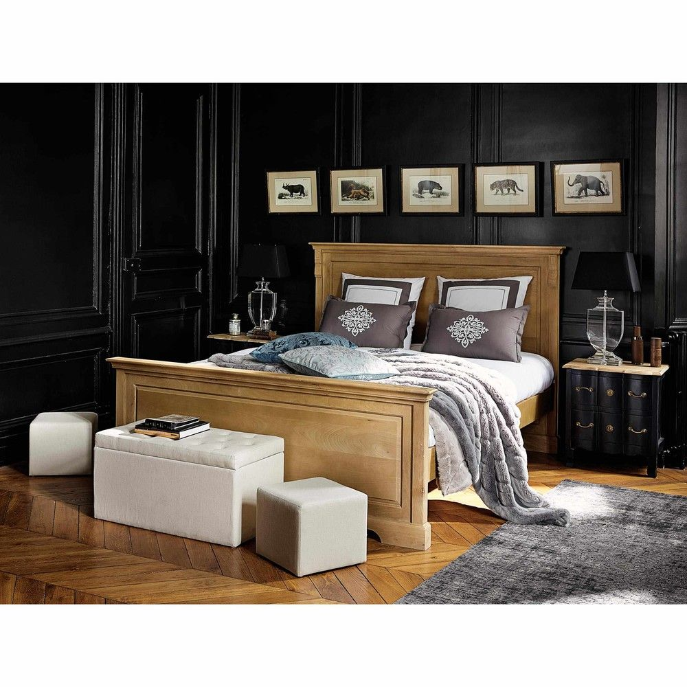 Cama 180 × 200 de madera de mango | Dormitorio | Pinterest | Camas ...