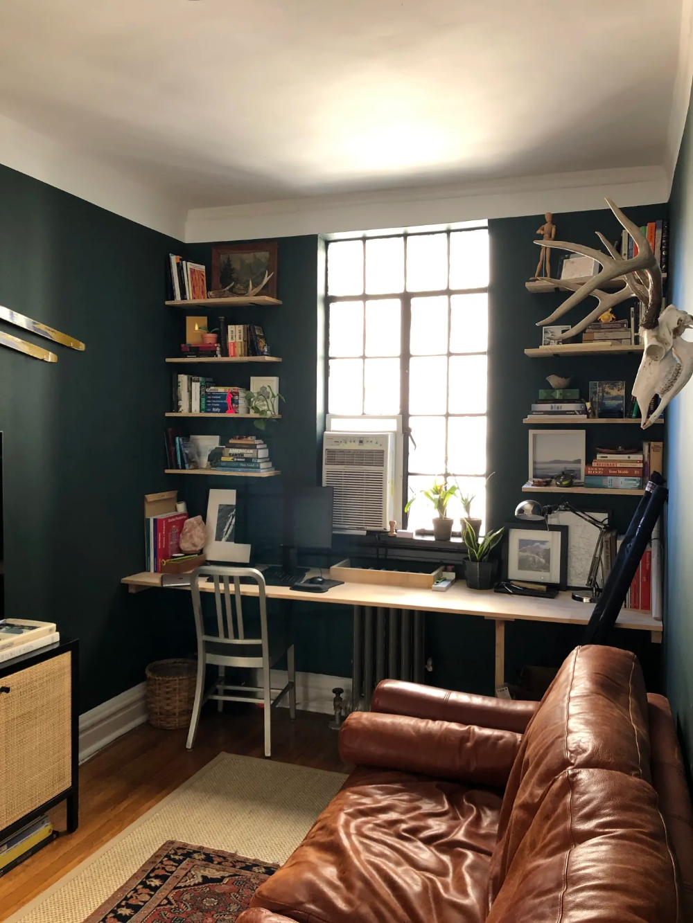 A 630-Square-Foot NYC Rental Was Found & Furnished