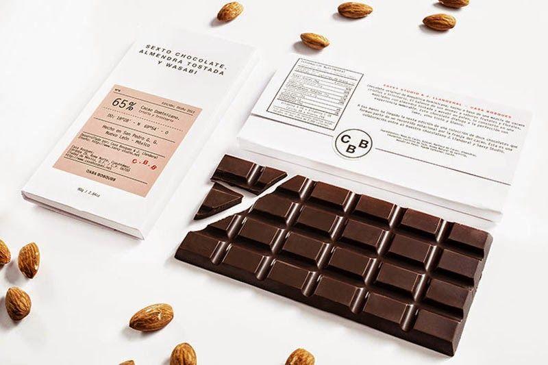 Chocolate experimental de los mexicanos Casa Bosques