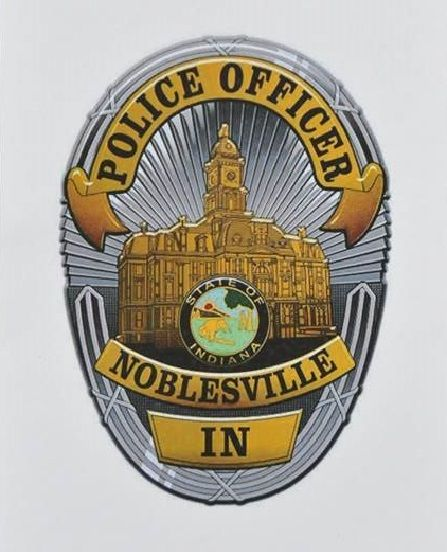 Noblesville Pd In Police Badge Police Fire Badge