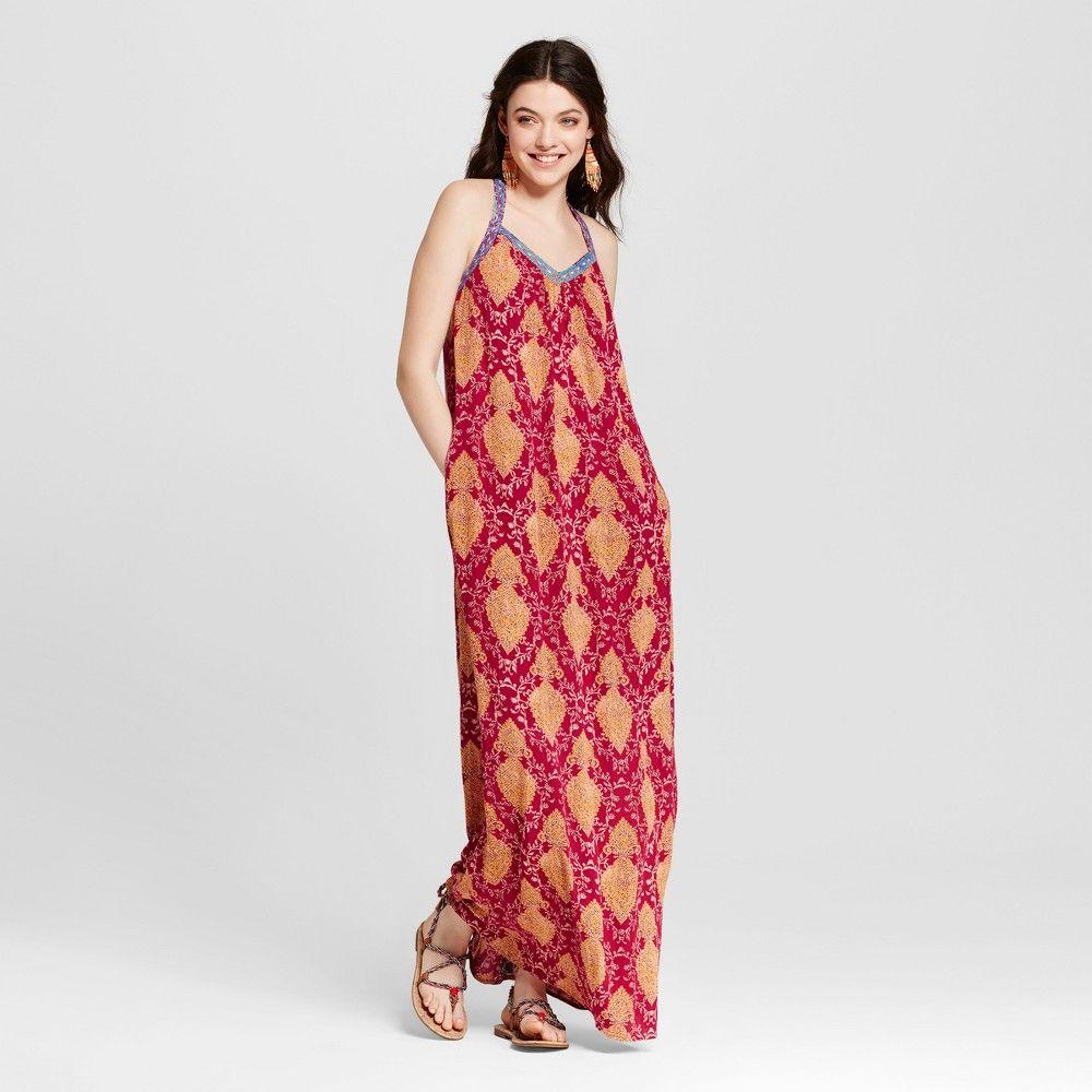 Women\'s Maxi Dress with Strap Details - Xhilaration (Juniors ...