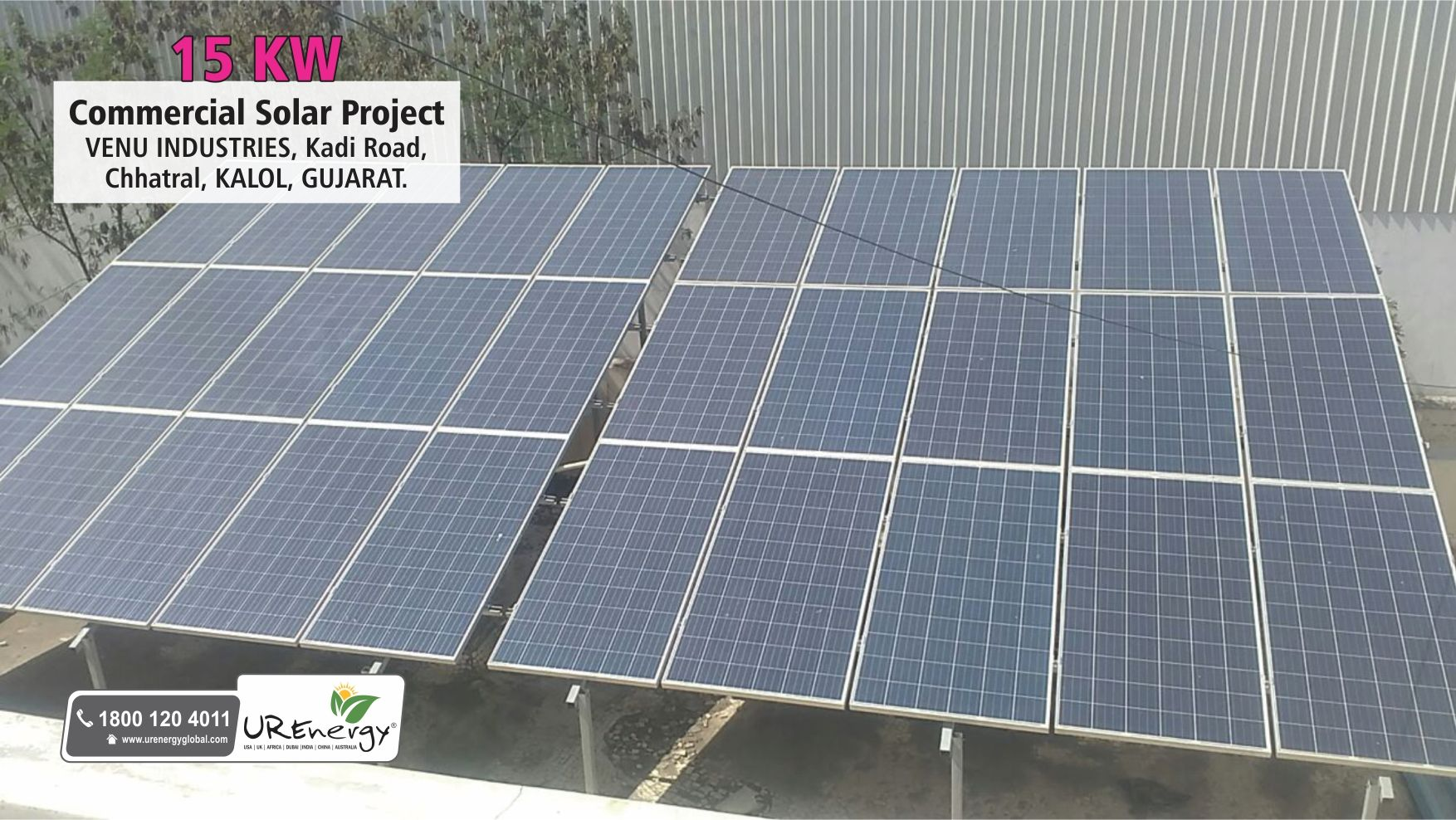 15 Kw Commercial Solar Panel System Installed By U R Energy India Pvt Ltd Commercial Residential Epc Solar Solar Solar Projects Solar Heating
