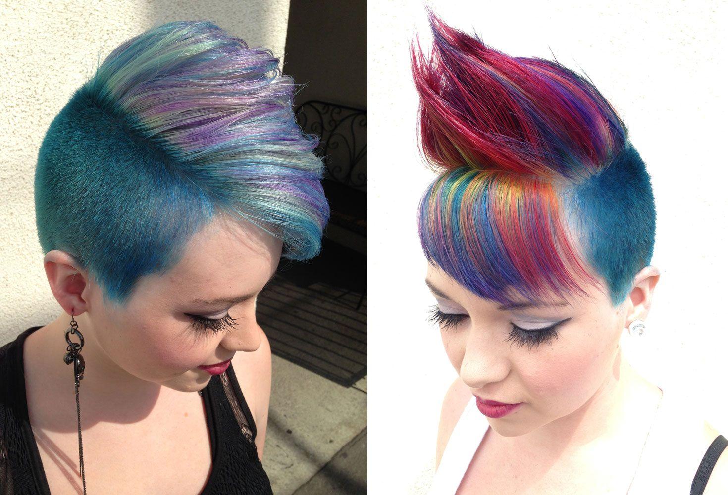 Nice mohawk and hair color hair pinterest mohawks hair