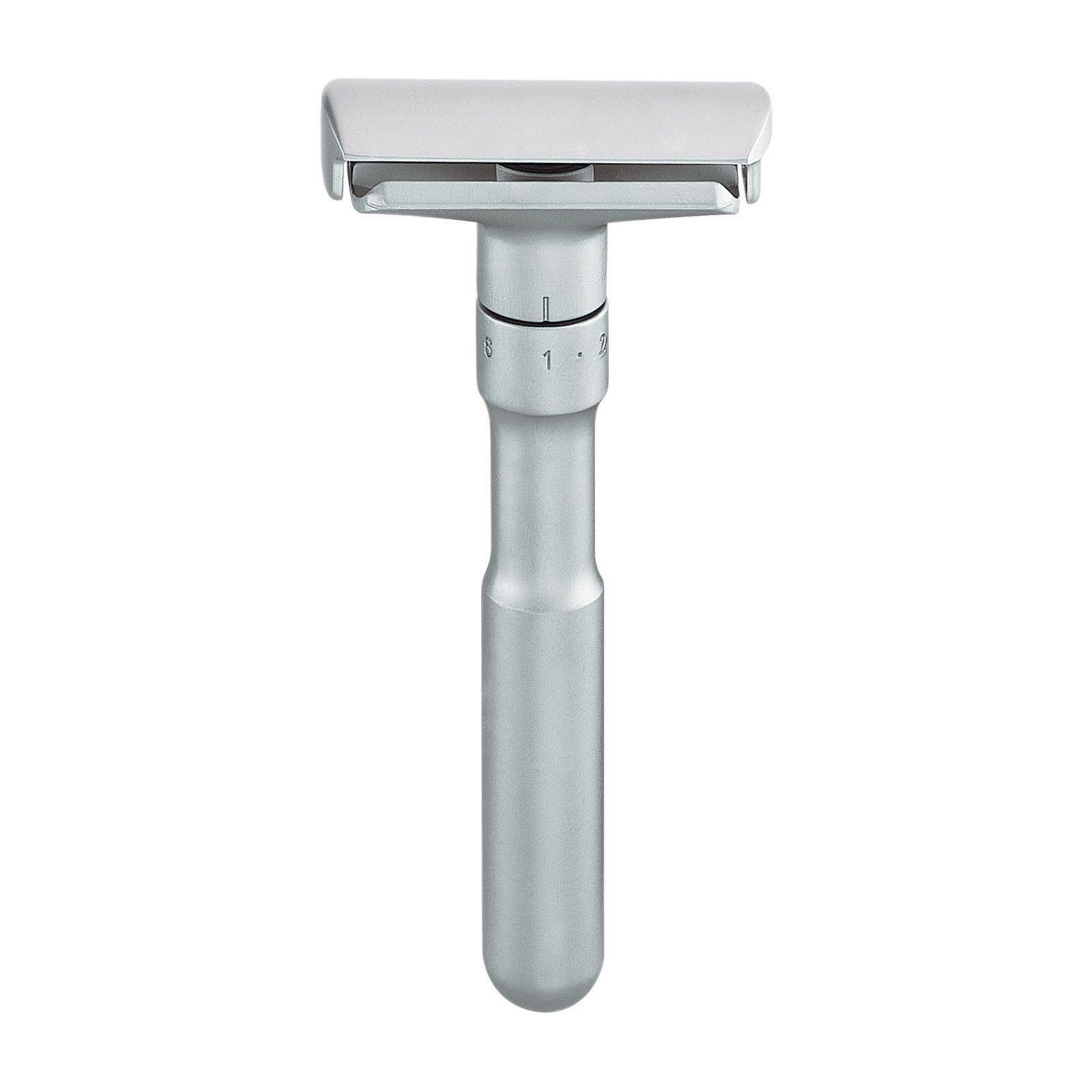 Merkur Futur Chrome Adjustable Double Edge Safety Razor Safety Razor Wet Shaving Chrome