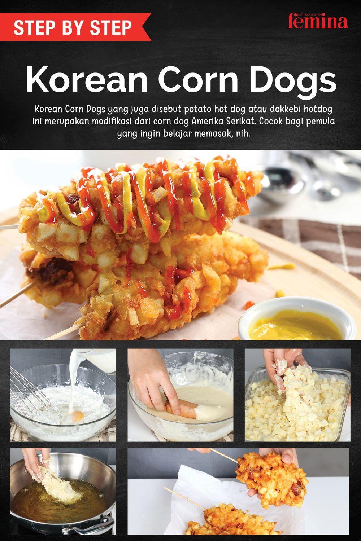 Cara Membuat Korean Corn Dogs Ide Makanan Resep Makanan Korea Resep Makanan