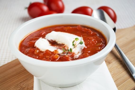 Die Lowcarb-Tomatencremesuppe ist ein Rezept speziell für Sportler in der Definitionsphase oder für Leute in einer Diät.