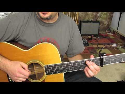 Mumford and Sons - Little Lion Man - How to Play on Acoustic Guitar ...