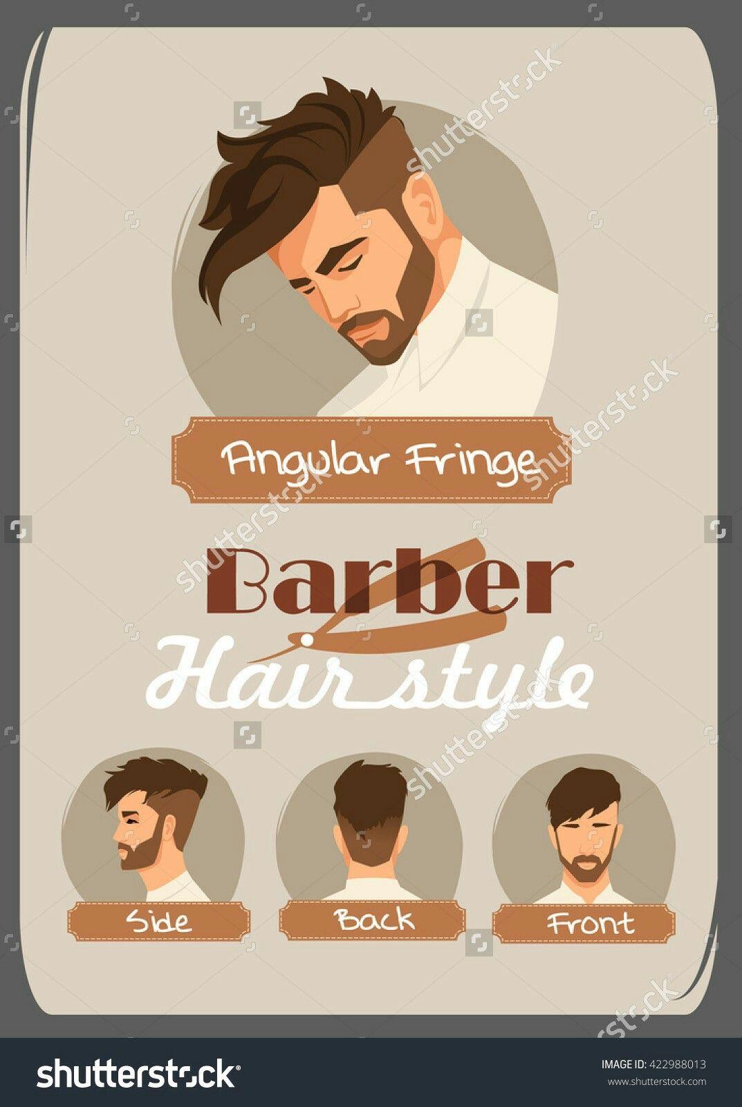 Mens Angular Fringe Haircut Haircuts Hair Styles Hair Cuts
