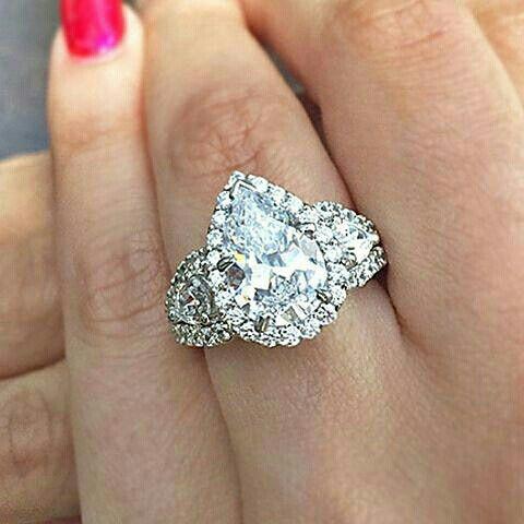 Beautiful Heart Shaped Diamond Ring