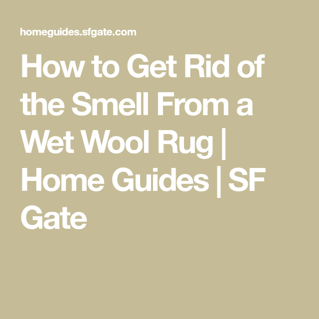 How To Get Rid Of The Smell From A Wet Wool Rug In 2020 Wool Rug Clean Wool Rug Rugs