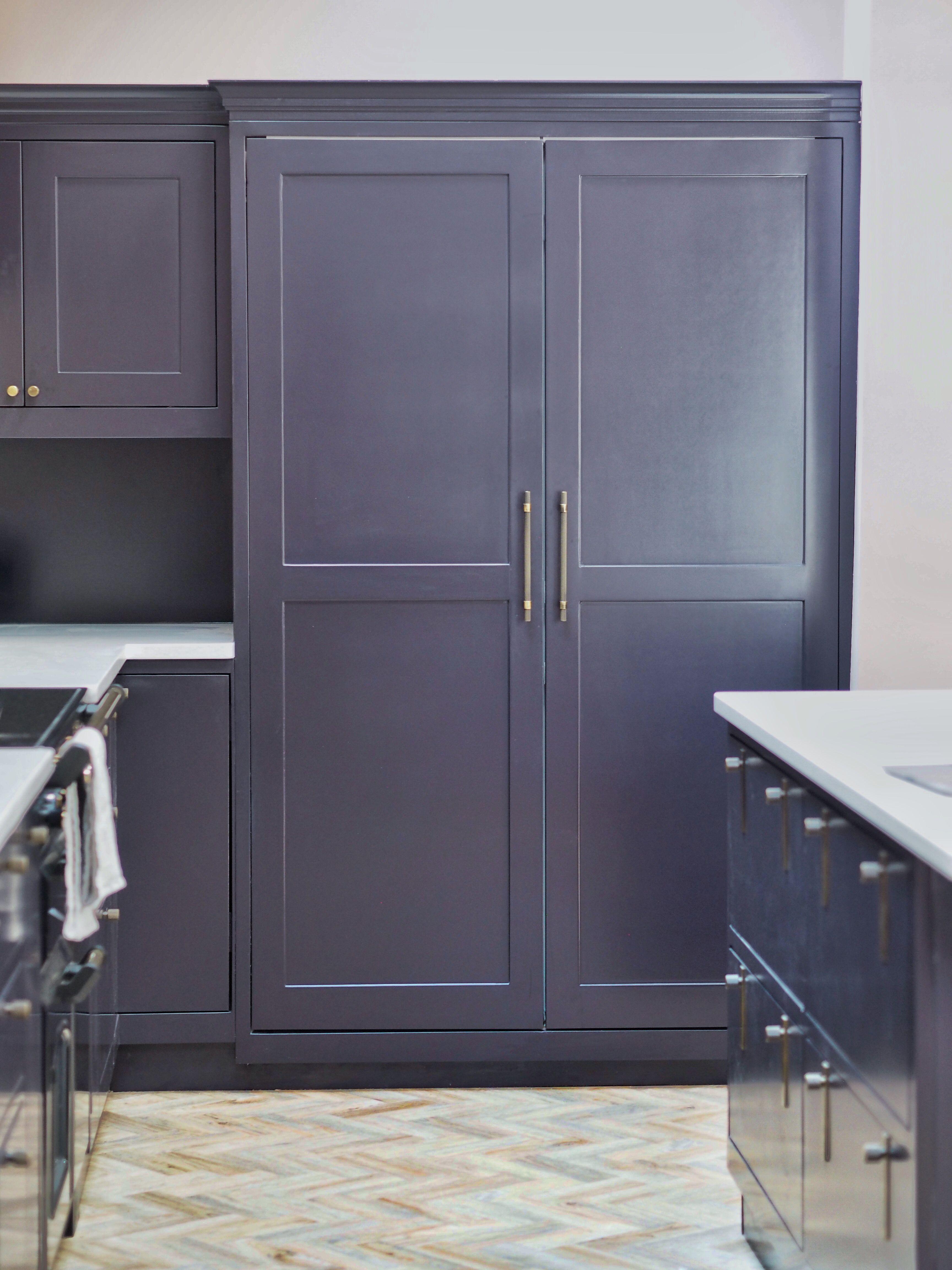 Shaker Kitchen Integrated Fridge Shaker Style Cabinets Shaker Kitchen