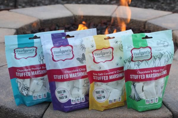 Assortment of Flavored Marshmallows (5 boxes, 30 pcs) #flavoredmarshmallows