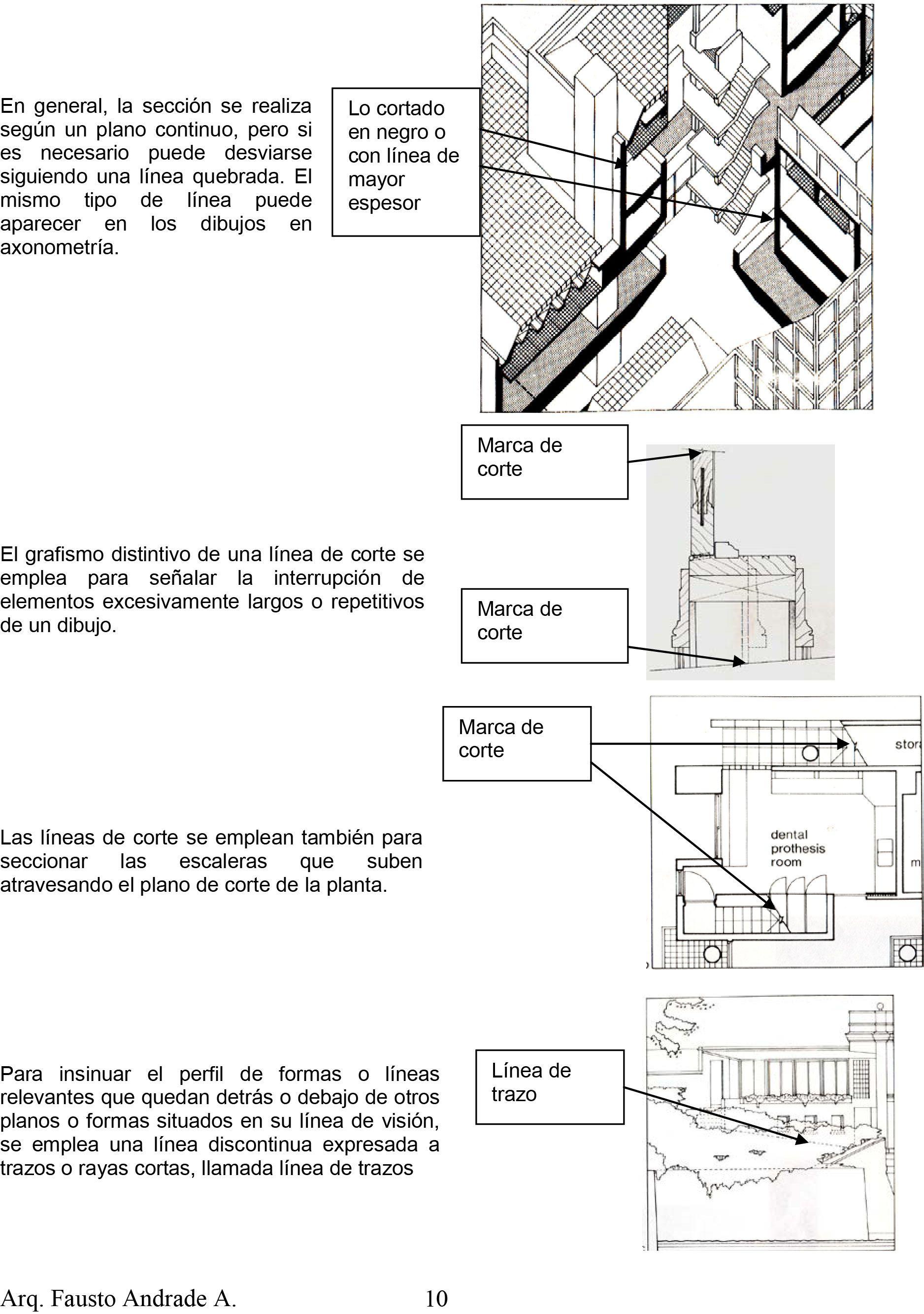 Pin De Representacion Iii En 00 Autocad Referentes Axonometria Tipos De Líneas Planos