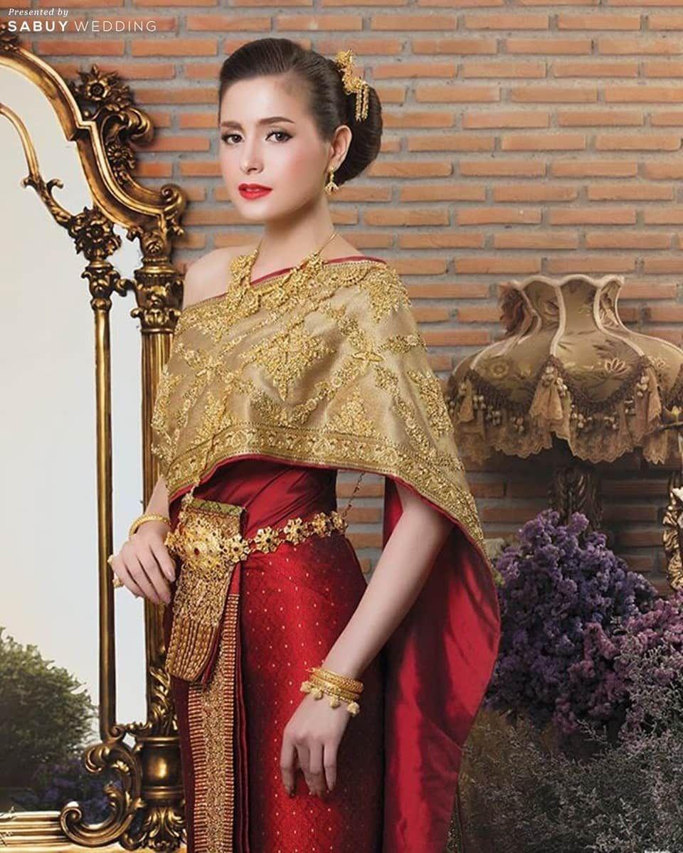 Thai Style Thai Costume Thai Girl Siam Dress Thai -1007