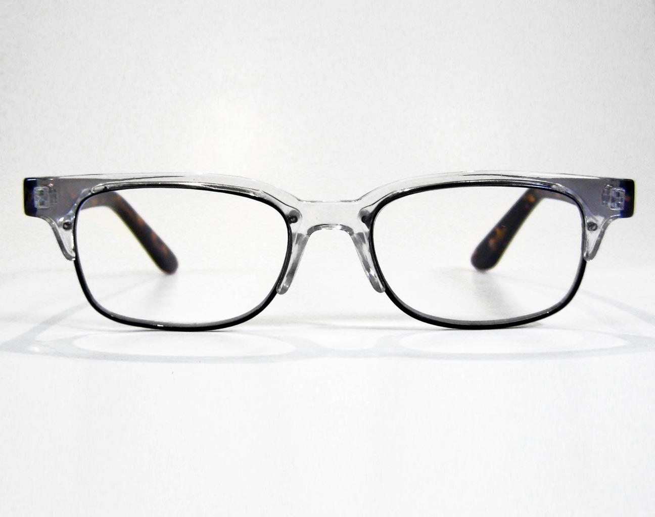 Geek & Nerdy - Charles | Retro Focus Eyewear Clear Browline Reading ...