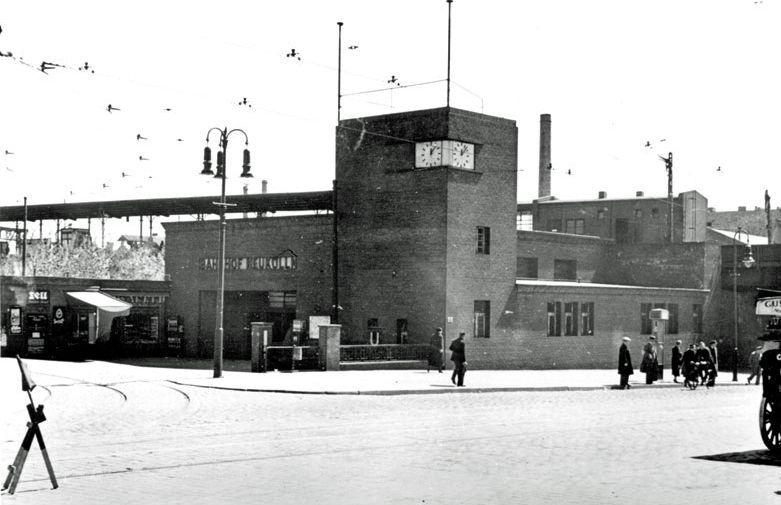 S-Bahnhof Neukoelln 1935
