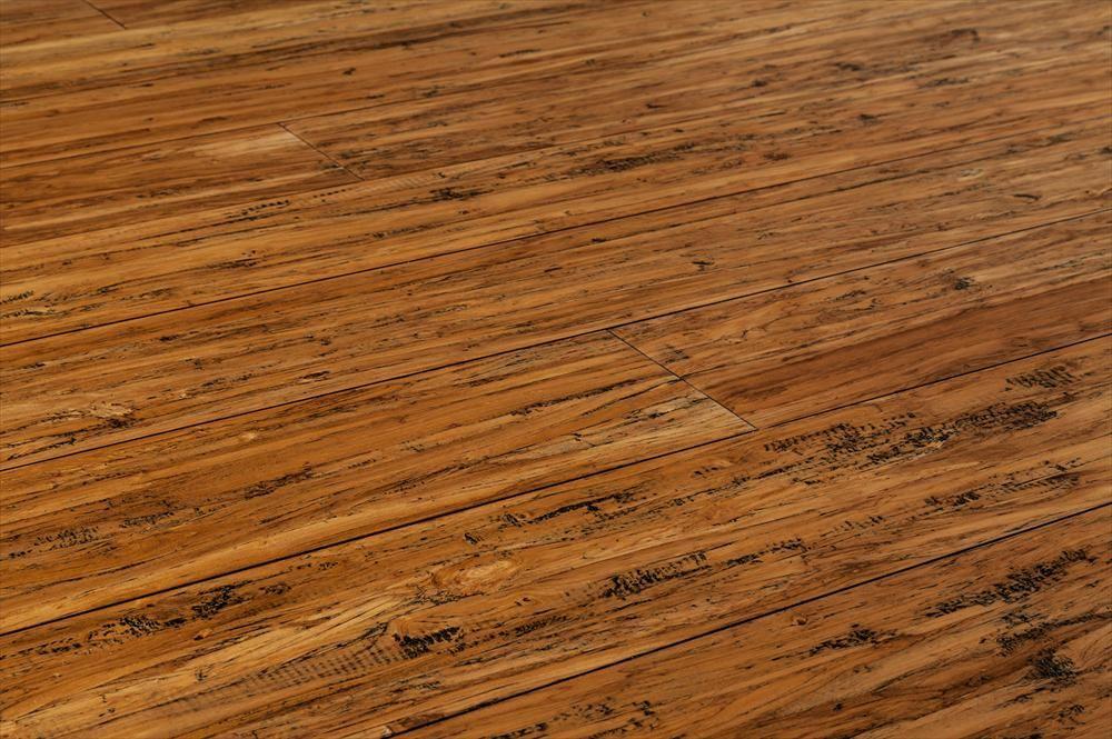 BuildDirect – Hardwood - Exotic Brushed Sandalwood Collection – Cava Beige - Angle View