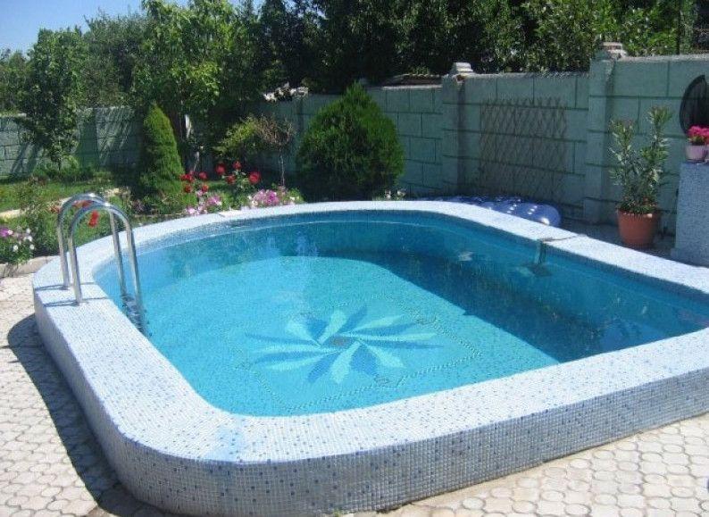 Images Of Semi Inground Pools Pool Landscaping Pool