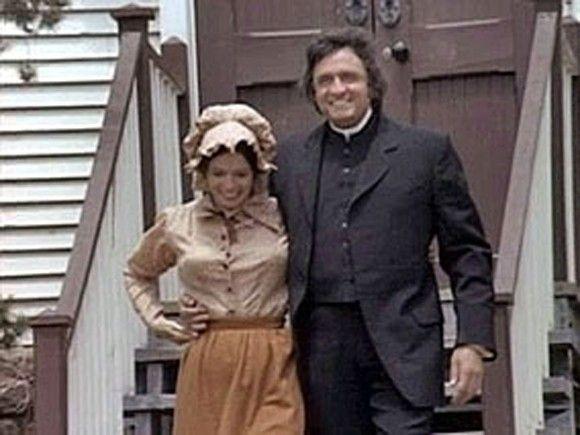 June Carter Cash Als Mattie Hodgekiss Bei Unsere Kleine Farm Cash