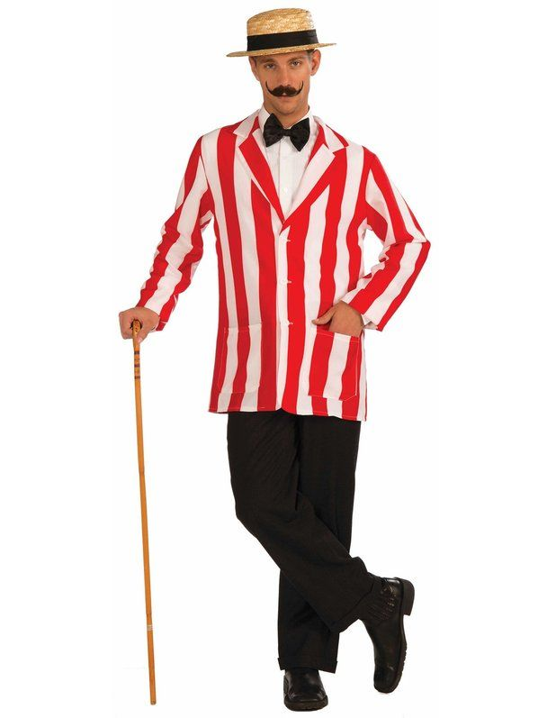 Old Time Jacket Adult Costume Costumes, 1920s style and 1920s - 4 man halloween costume ideas