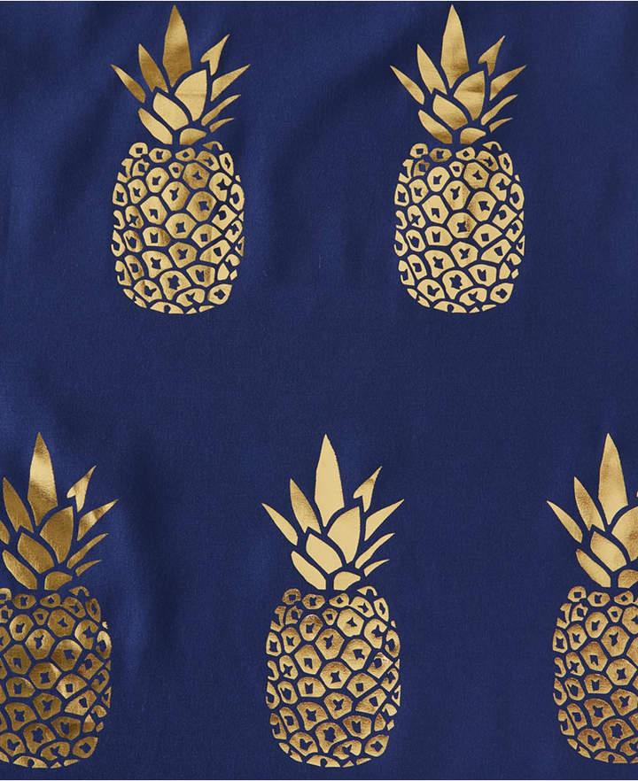 Saturday Knight Ltd Gilded Pineapple Shower Curtain Bedding