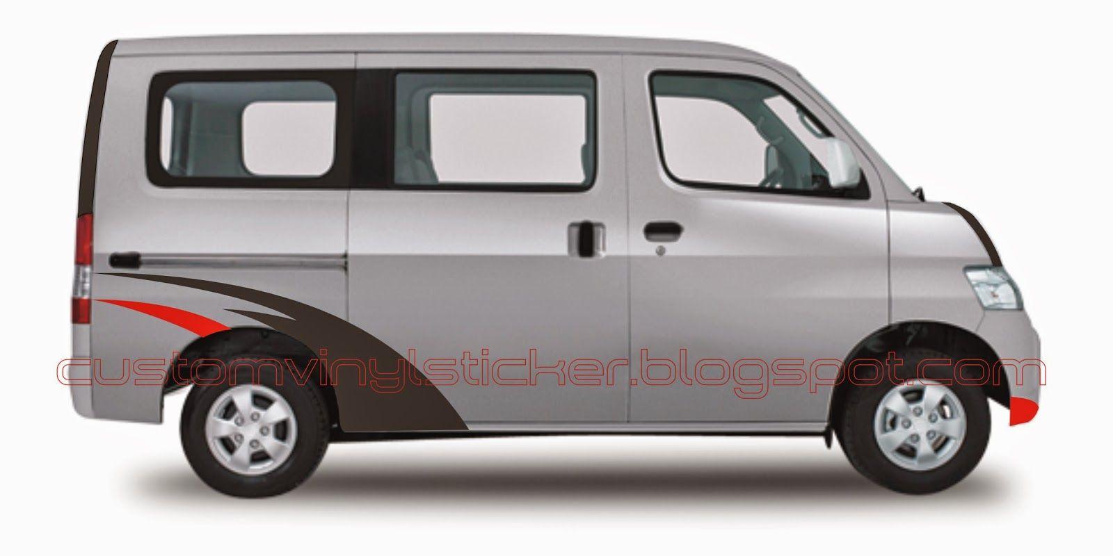 Daihatsu Granmax Silver Wrap Strip Concept Dengan Gambar