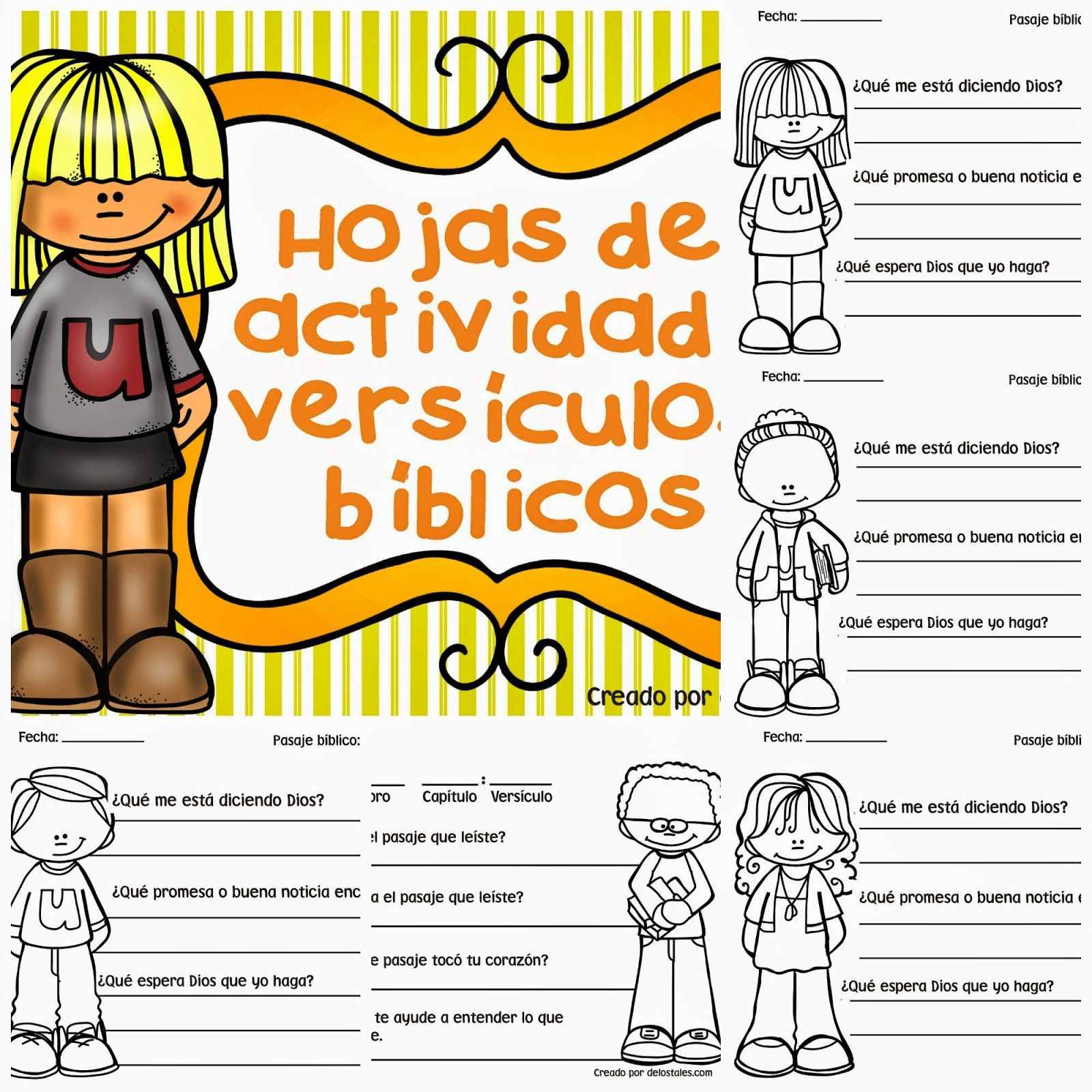 Hojas de actividad versículos bíblicos | Escuela bíblica | Pinterest ...