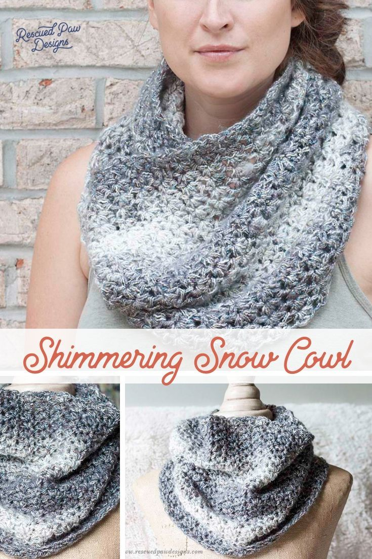 Easy Crochet Cowl Pattern Unique Inspiration Design