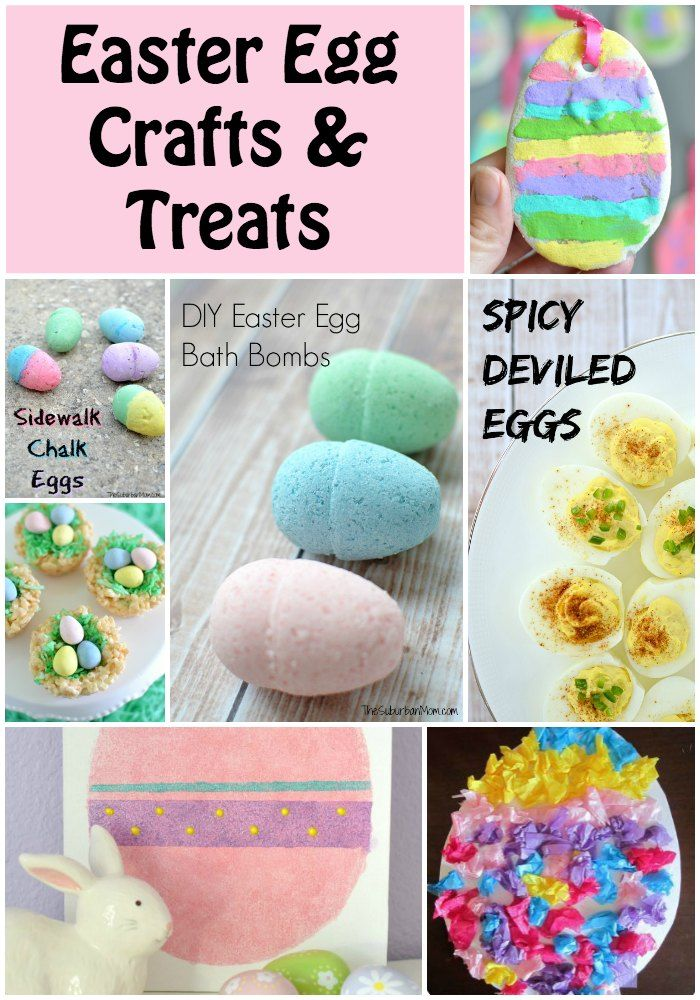 Favorite Easter Crafts And Easter Treats Egg Crafts And Easter