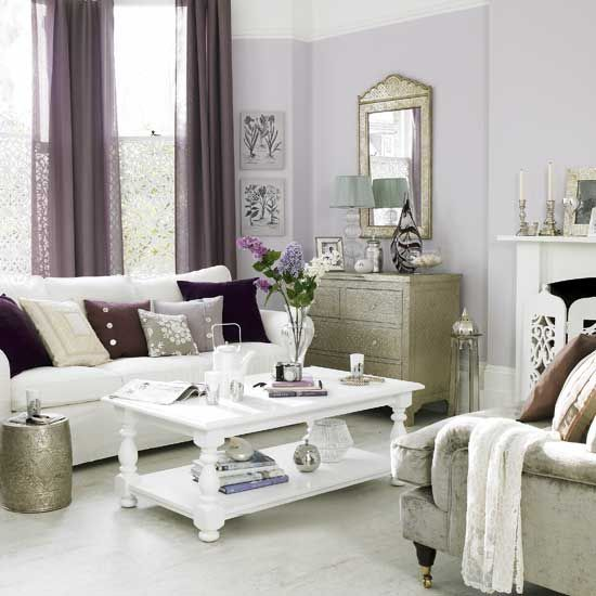 17 Best Images About Purple Living Room On Pinterest | Peacock