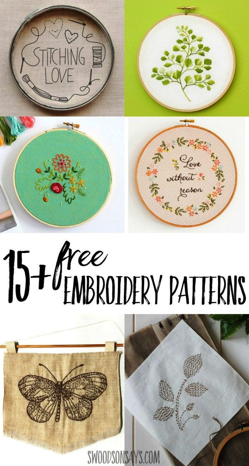 Spectacular ue iron on embroidery patterns for pillowcases d