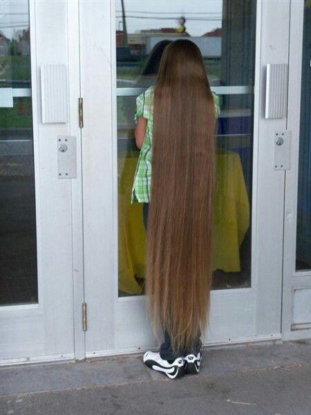 ankle length rambut panjang