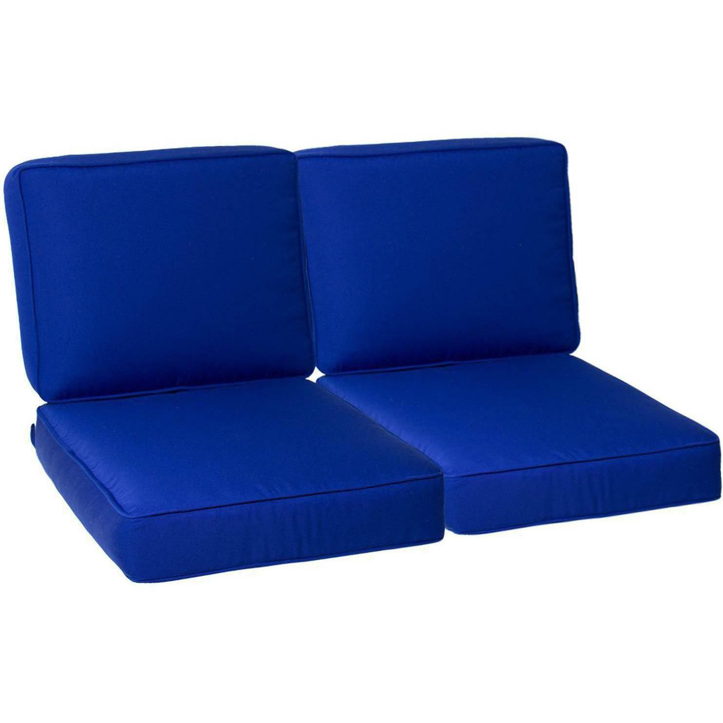 Genial UltimatePatio.com Large Replacement Outdoor Loveseat Cushion Set With  Piping   Canvas True Blue UltimatePatio.com Large Replacement Outdoor  Loveseat Cushion ...