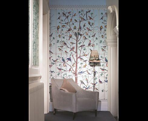 Uccelli di fornasetti catalogo design di for Prezzi parati