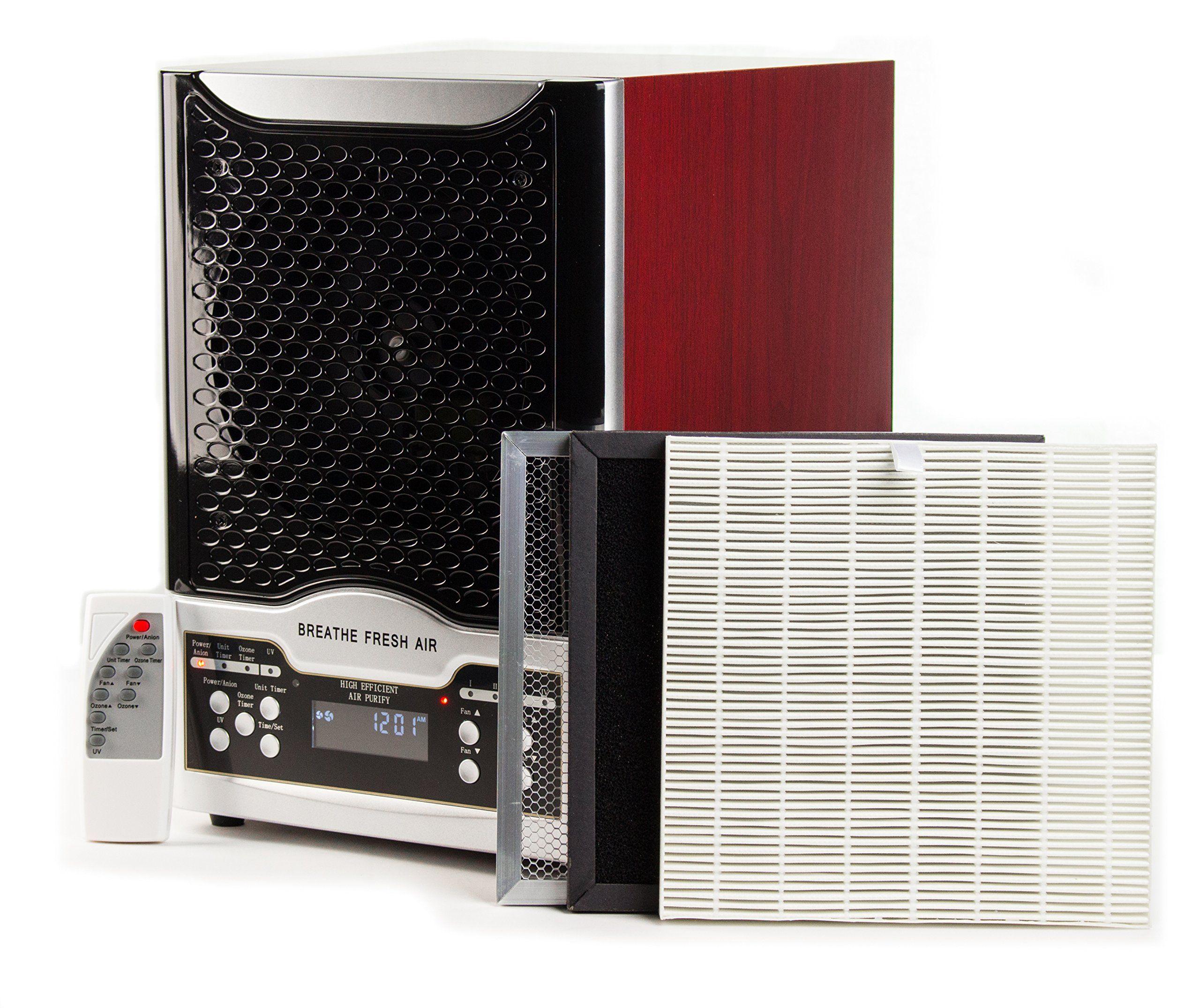 Breathe Fresh Air Air Purifier 3 Plate Carbon/HEPA Filter