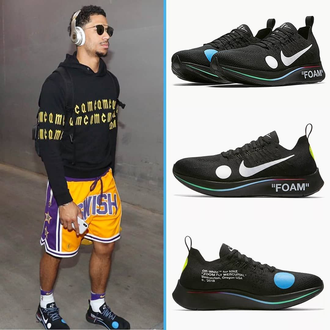 new product 1dc89 53370  jhart in  swishauthentics shorts with the Off-White x Nike Zoom Fly  Mercurial