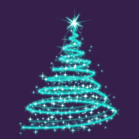 Christmas Trees Glowing Trees Christmas Decor Christmas Etsy Xmas Clip Art Animated Christmas Tree Christmas Phone Wallpaper