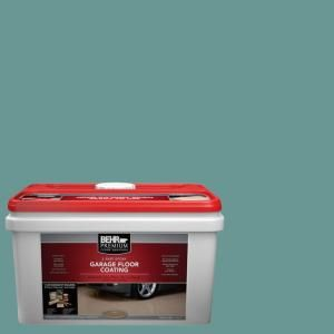 Behr Premium 1 Gal Pfc 48 Aqua Marble 2 Part Epoxy Garage Floor Coating Kit 95536 The Home Depot Garage Floor Epoxy Floor Coating Garage Floor Coatings
