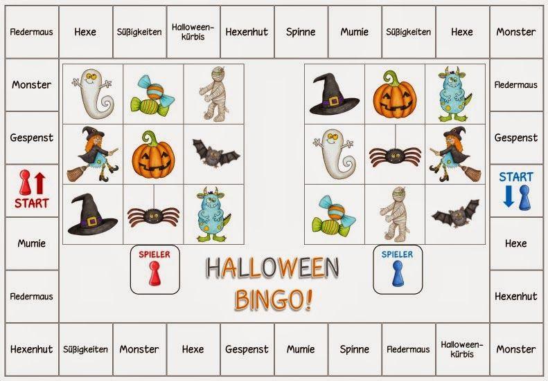 Groß Vorschule Halloween Bingo Ideen - Ideen färben - blsbooks.com