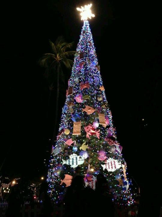 Hawaiian christmas tree Christmastime Pinterest Hawaiian