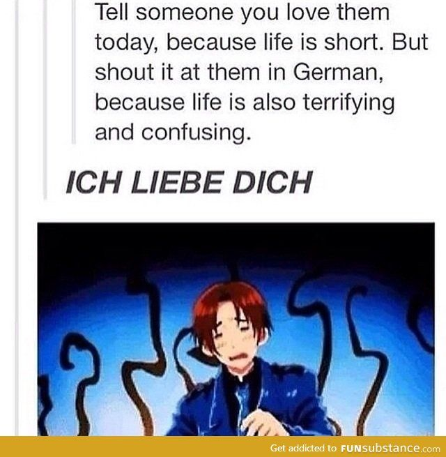 german phrases about life