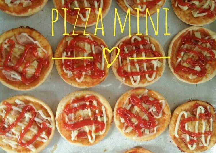 Resep Pizza Mini Oleh Riny Hanjani Resep Makanan Dan Minuman Resep Makanan