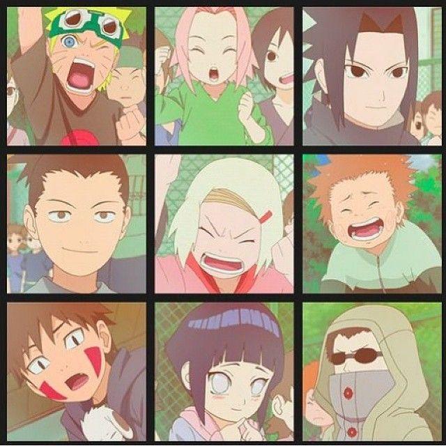 Naruto Sakura Sasuke Shikamaru Ino Choji Kiba: Naruto, Sakura, Sasuke, Shikamaru, Ino, Choji, Kiba