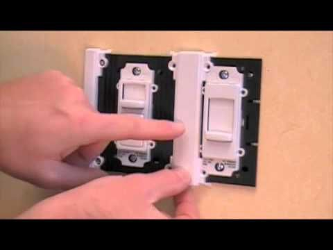 Pass Seymour How To Install A Titan Dimmer By Legrand From Valley Light Gallery Dimmer Switch Dimmer Installation