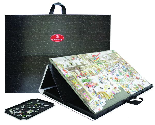 Jigsaw Accessories Portapuzzle Pro (68 X 49) Mulifunctional Puzzle Board  Complete With Inserts