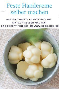 Handcreme selber machen aus natürlichen Zutaten - Deko-Hus