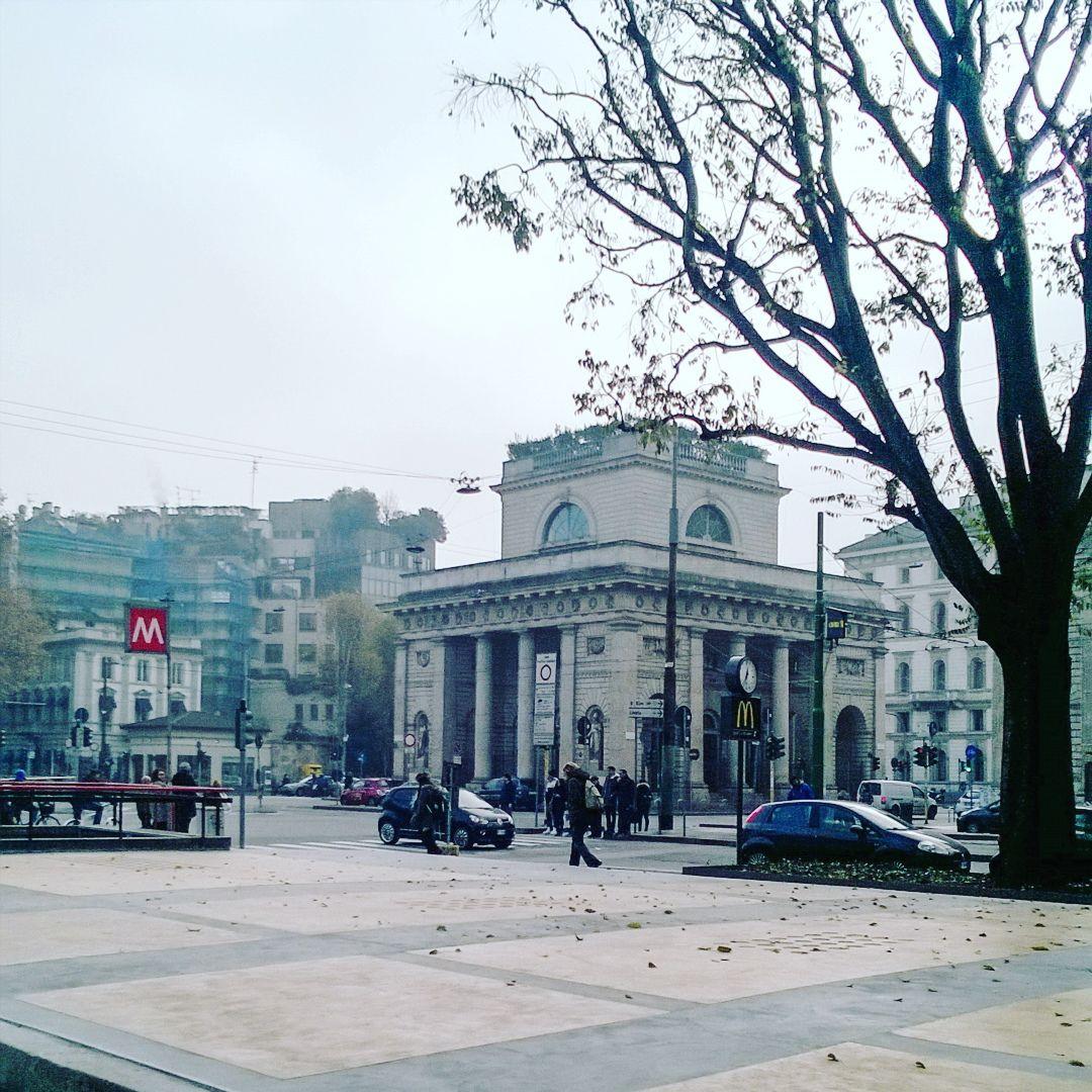 L'aria ghiacciata dell'inverno milanese... #saturday #citylife by violettabreda