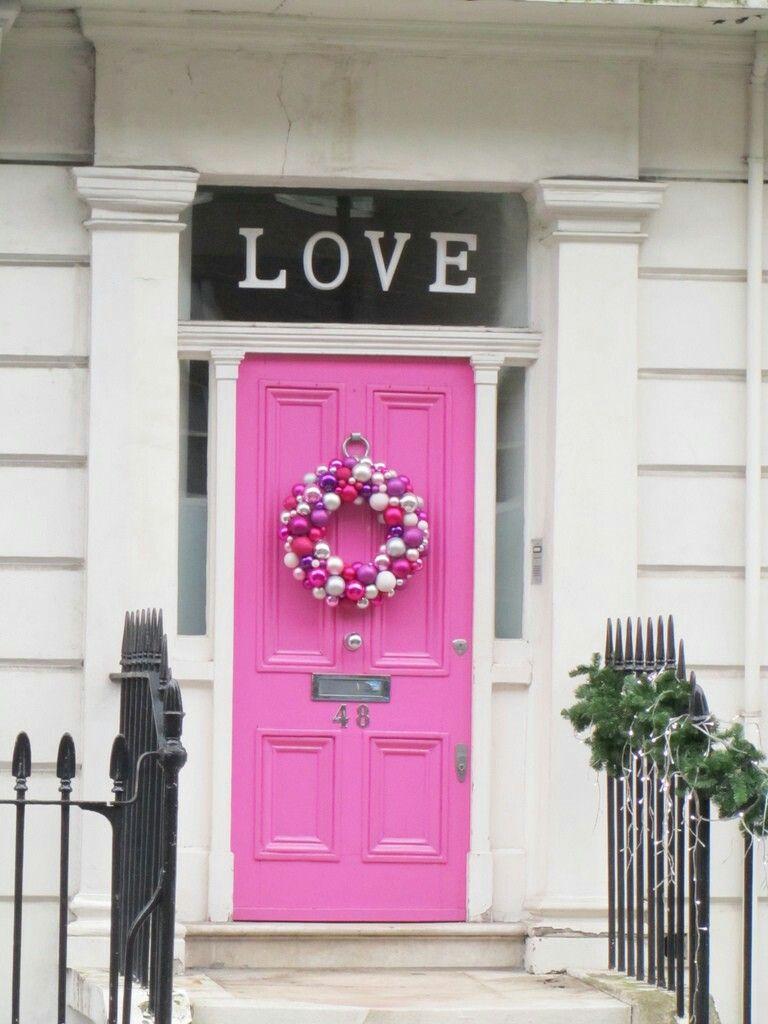 Pink love Pink love, Pink, Doors