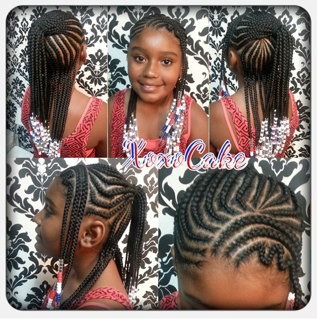 Terrific 1000 Images About Kids Hairstyles On Pinterest Cornrows Hairstyles For Women Draintrainus